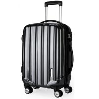 Wholesale Hard PC ABS Trolley Luggage 4 Wheeled SuitcasesWith Coded Lock BV Verify from china suppliers