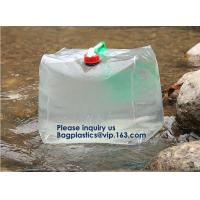 Buy cheap Portable Tank Bag,Drinking Water Bag Water Bags Multicolor Green Portable Food Safety Grade PVC Foldable Water Bags with from wholesalers