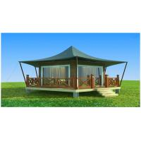 Buy cheap Heat Insulation Luxury Resort Tents Glam Camping Tents UV Protection from wholesalers
