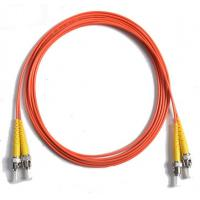 Buy cheap 62.5 / 125 Duplex Orange Fiber Optic Patch Cord , 5Mtrs PVC Lc To Sc Fiber Cable 1310nm / 1550nm Wavelength from wholesalers