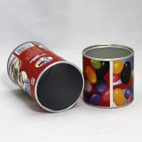Buy cheap Lovely Red Paper Composite Cans with Aluminium Foil for Candy Packaging from wholesalers
