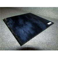 Buy cheap Black PVC Wall Profiles Hot Stamping Decorative Wall Cladding Strip from wholesalers