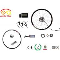 Boys Mountain Bike Electric Hub Motor Kit With LCD Display More Free Time
