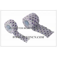 Buy cheap Printed Cohesive Bandage Dot Design Custom Design Non Woven Material  For OEM from wholesalers