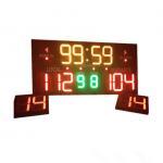 Buy cheap Customized Design LED Basketball Scoreboard Single Sided 3.6 ' X 3.9 ' X 4'' from wholesalers