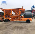 Buy cheap Ready Mixed YHZM25 25cbm Mobile Concrete Batching Plant With Drum Concrete Mixer from wholesalers
