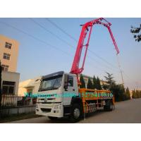 Buy cheap 3 arms Zoomlion 23m Verticle reach Truck Mounted Concrete Pump 23X-4Z with Output of 100m³/h from wholesalers