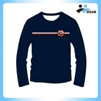 Buy cheap Factory direct sale wholesale dry fit  custom Long sleeves t shirt, mans t-shirt men, cheap t shirt design from wholesalers