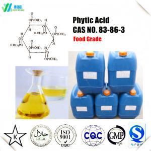 China Food grade Phytic Acid  liquid /Phytic Acid powder CAS 83-86-3 Quality certificate Free Sample on sale