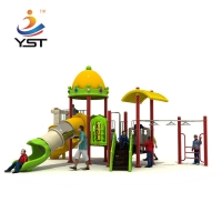 Buy cheap Sports Park 2.5cbm Kids Playground Slide With Wingset from wholesalers