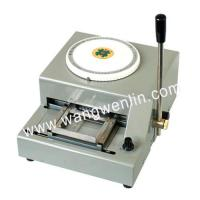 Wholesale WL-2000 PVC Card Embossing Machine from china suppliers