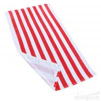Buy cheap Soft Absorbent and Plush 100% Cotton Cabana Striped Beach Pool Bath Towel from wholesalers