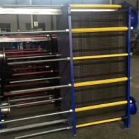 Buy cheap High Efficiency Flat Plate Heat Exchanger Easy Remove Clean Multi Effect from wholesalers