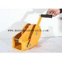 Buy cheap 1800lbs Test Load Squagging / Automatic Manual Winch With Brake For Terminals / Construction from wholesalers