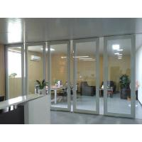 Buy cheap Aluminum Sliding Doors / Collapsing Aluminum Sliding Partition Walls Easy Installation from wholesalers