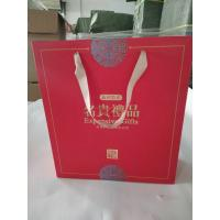 Quality Eco Friendly Custom Printed Paper Bags With Gloss Lamination Finishing for sale