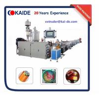 Buy cheap Micro Duct PE Silicone Core Pipe Production Line /High speed telecom pipe extruder/automatic telecom pipe extruder from wholesalers