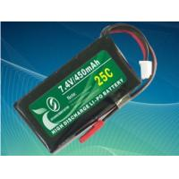 Buy cheap lithium polymer battery pack 5200mah with 50c discharge rate from wholesalers
