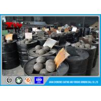 Buy cheap 140mm Hot rolling SAG Grinding Ball Mill Balls For Building Material Industry from wholesalers