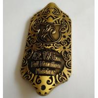 Buy cheap Customized Embossed Metal Medal with Epoxy from wholesalers
