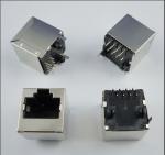 Buy cheap PBT Or Nylon Housing PCB Jack Socket 8 pin Rj45 Vertical Type from wholesalers