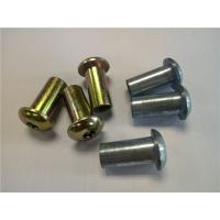 Buy cheap Customized Zinc Alloy Die Casting Zinc Alloy Screws / Nuts Zinc Plating Die casting Chome plating from wholesalers