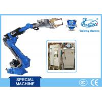 Energy saving 6 DOF Industrial Robot Arm Welding Equipment for Parts Manufactures