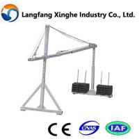 Buy cheap 415v aerial suspended scaffolding platform manufacturer in Hebei from wholesalers