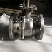 JIS flange ball valve with mounting pad Manufactures