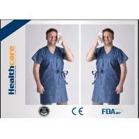 Buy cheap Unisex Medical Disposable Sterile Gowns Protective Wear For Hospital Breathable from wholesalers