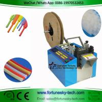 Buy cheap Fully Automatic Heat Shrinkable Tubing Hot Cold Cutter Cut To Length Auto-Stop Speedy Accuracy from wholesalers