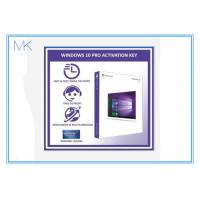 Buy cheap 100% Activation Online Windows 10 Retail Box 64 Bit Windows 10 Pro Software from wholesalers