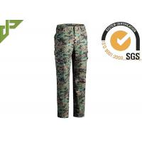 Wholesale Multicam Military Grade Cargo Pants / Camouflage Woodland Tactical Pants For Hunting from china suppliers
