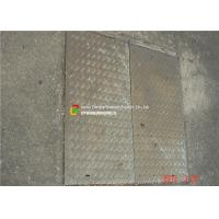 Buy cheap Galvanized Steel Grate Drain Cover With Angle Frame for Urban Road / Square from wholesalers