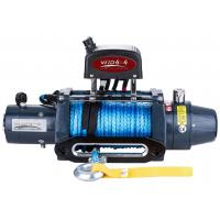Buy cheap OEM recovery winch 8000lbs 9500lbs 12000lbs 12V 24V off road 4x4 electric winch with Dyneema rope from wholesalers