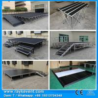 Buy cheap RK Portable outdoor wooden portable stage stairs folding portable stage system from wholesalers