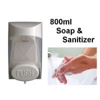 Buy cheap Wall Mount 800ml Touch Soap Dispenser ABS Plastic Material For Bathroom / Restroom from wholesalers