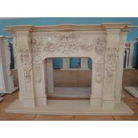 China Exquisite Products In Stock Of Natural Stone Fireplace Frame on sale
