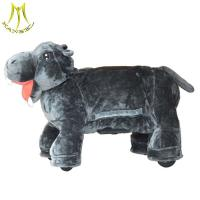 Buy cheap Hansel animal kid ride on toy for mall and stuffed ride on animal toy with arcade animal ride for mall from wholesalers