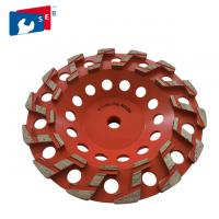 Buy cheap 4'' Diamond Marble Grinding Wheel with Cup Shape for Concrete from wholesalers