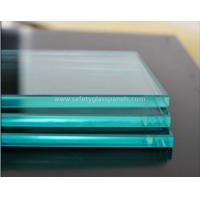 Buy cheap Patterned Flat Clear Float Glass 12mm For Shop Fronts / Folding Screens product