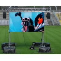 Buy cheap Waterproof Outdoor Rental LED Display Board Full Color P4.81mm 1R1G1B For Show product