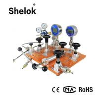 Buy cheap LPG 0.05 accuracy 0-40MPa oxygen argon gas air co2 pressure reducer cng pressure reducing regulator calibrator from wholesalers