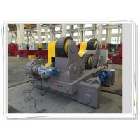 Dual Motor Driven Self-aligned Welding Rotator Motorized Trolley Manufactures