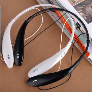 China LG HBS-800 Tone Bluetooth Headset Sports Neckband Headphones for iPhone Samsung LG Xiaomi on sale