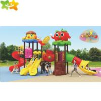 Buy cheap Custom Size Durable Plastic Playgrounds For Backyard / Kids Wave Slide from wholesalers