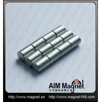 Buy cheap Strong n50 cylinder neodymium magnet from wholesalers
