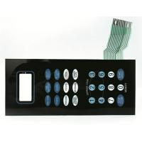 Buy cheap Environmental Dustproof Keyboard PET Membrane Switch For Home Appliance from wholesalers