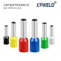 Buy cheap Electrical E Tube Type Insulated Ferrule Terminal, Wire Crimp Tube Sleeve E series Pipe Pin Insulated Cord End Terminals from wholesalers