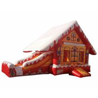 Wholesale Christmas Party Events Combo Jumping Castle Gonflable Noel Slide Bounce House from china suppliers